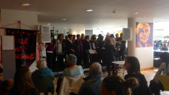 SouthBank Centre Performance with Rise Up Singing